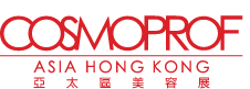 Logo for the Cosmoprof cosmetics exhibition in Hong Kong 2018